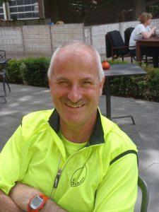 Trainer Frans van Son van de Springbokken