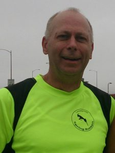 Trainer Tom Verest van de Sprinbokken